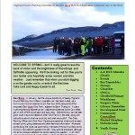 2013 Spring Newsletter Front Page