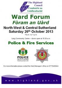 Ward Forum