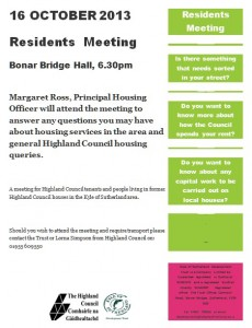 Residents Meeting