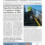 Winter Newsletter No30 Front Page