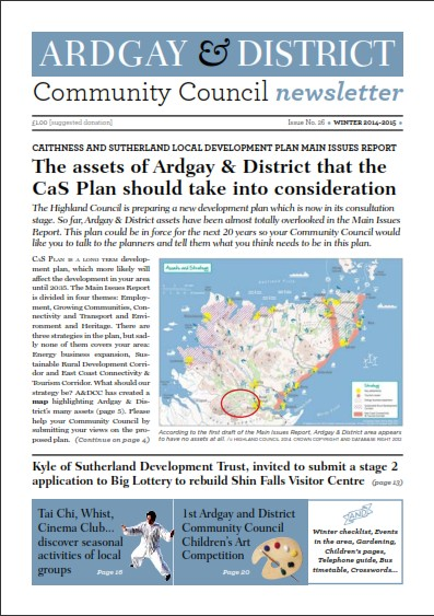 Winter 2014 Front Page